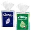 Save $1.00 on any FOUR (4) single boxes of Kleenex® Facial Tissue (not valid on t...