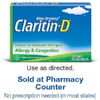 Save $4.00 on Claritin-D® Products when you buy ONE (1) Non-Drowsy Claritin-D&reg...