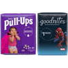 Save $3.00 on any TWO (2) packages of PULL-UPS Training Pants or GOODNITES Bedtime Pa...