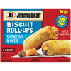 Save $0.50 $.50 OFF ONE (1) JIMMY DEAN BREAKFAST BISCUITS OR ROLL UPS 4 CT. SEE UPC LISTING