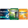 Save $10.00 on NicoDerm CQ and Nicorette Products when you buy ONE (1) Nicoderm, any...