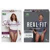 Save $5.00 on any TWO (2) DEPEND® Silhouette OR Real Fit (4 ct. or larger)