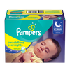 Save $1.50 on ONE BOX Pampers Swaddlers Overnights Diapers (excludes trial/travel siz...