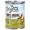 Save $1.00 on FOUR (4) Purina® Beyond® Wet Dog Food cans, any variety or size...