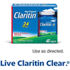 Save $6.00 on Claritin® when you buy ONE (1) Non-Drowsy Claritin® Allergy Pro...