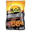 Save $1.00 on ONE (1) McCain Craft Beer Battered Onion Rings
