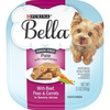 Save $1.00 on three (3) 3.5 oz trays of Purina(R) Bella(R) Wet Dog Food, any variety
