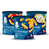 Save $1.00 on TWO (2) Gerber® Snacks, any variety or size.