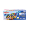 Save $0.50 on one (1) Our Family Freezer or Storage Slider Bags (24-42 ct.)